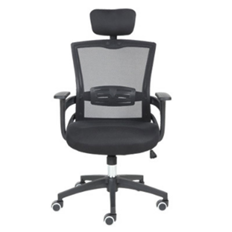 To Fashion Work An Office Black Screen Cloth Staff Member Chair Household Fashion Swivel Chair Student Lift Chair