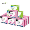 13packs/lot VLOVE Chemical Free Anion Menstruation Pad Sanitary Napkins