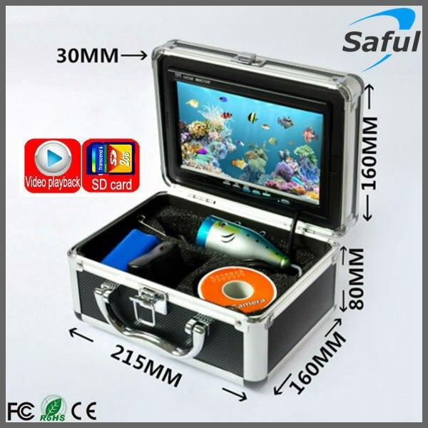 Offre spéciale 30 M câbles caméra de pêche sous-marine 800TVL IR caméra vidéo CCTV avec Vision nocturne sous-marine lumières vidéo détecteur de poissons
