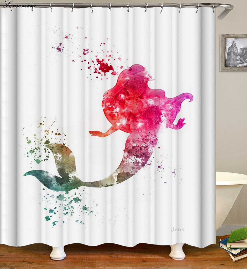 Shower Curtain Sets Lfy Flowers Textile Design Fabric