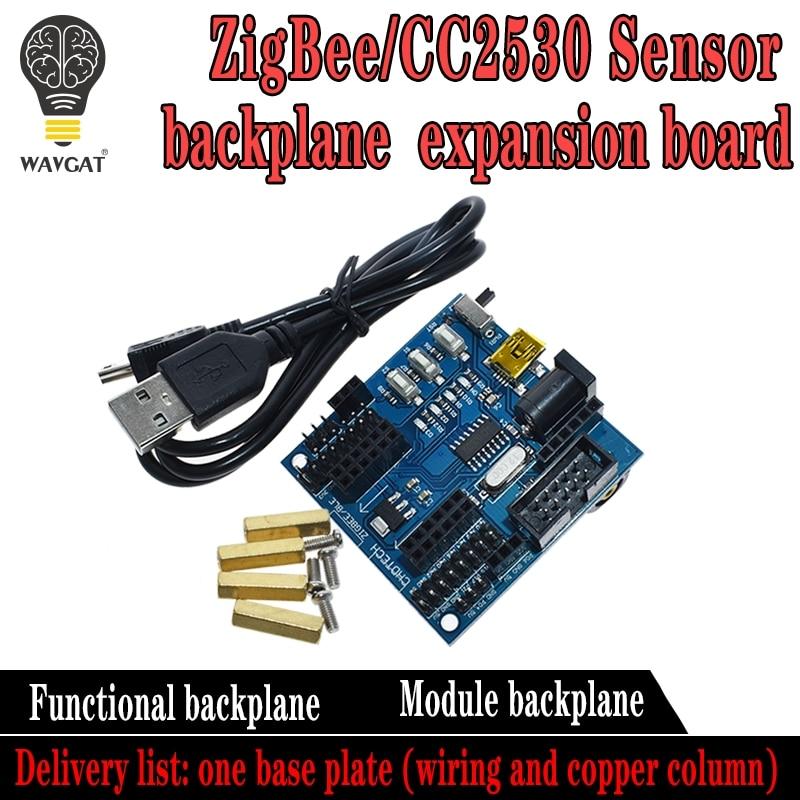 CC2530 ZigBee Sensor Node Baseboard Functional Module Expansion Board USB Port 24MHz 256KBCC2530 ZigBee Sensor Node Baseboard Functional Module Expansion Board USB Port 24MHz 256KB