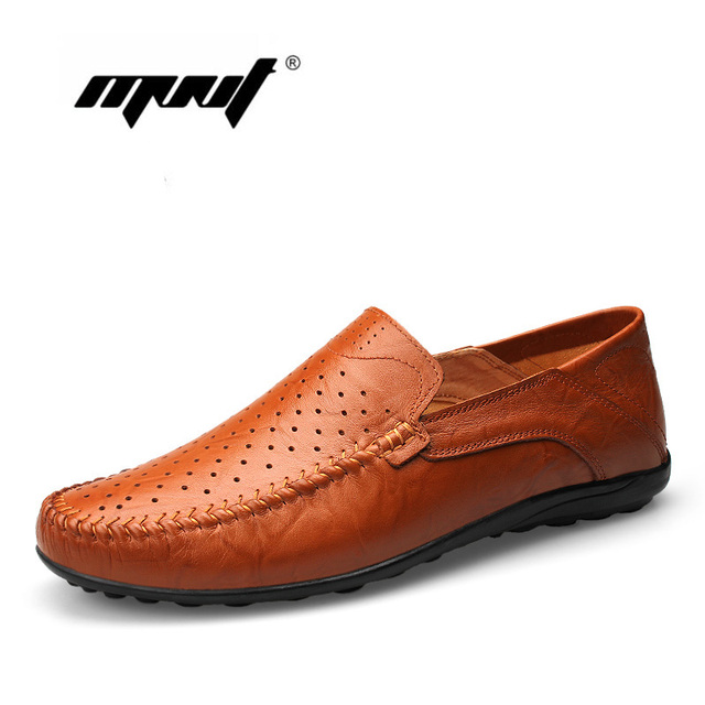 Hombres del Cuero genuino Pisos Zapatos de Malla Hombres Zapatos Hombres Zapatos Hombres zapatos hombre Mocasines Mocasines de Cuero de Vaca Natural