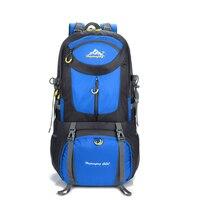 Hiking Backpack 60L Rucksacks Waterproof Backpack Men Outdoor Camping Backpack Gym Bags Travel Bag Large Sport Bags