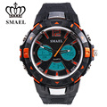 Fashion LED Uhren Manner Sport Uhr Armbanduhren Stil Wasserdichte Analog Quarz Digitale Elektronik Men Wristwatch 1506