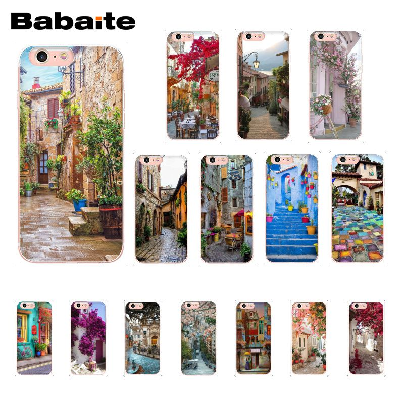 Babaite travel italy France London Flower World Places Phone Case for iphone 11 Pro 11Pro Max 5 5Sx 6 7 8Plus X XS MAX XR image