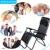 Homdox Corrimão de Alumínio Cadeira Dobrável Cadeira Reclinável Salão de Jardim Portátil Cadeira de Praia de Acampamento Ao Ar Livre 4 Cores