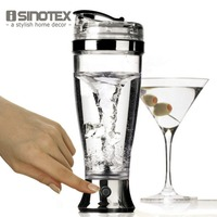 Electric Protein Shaker Blender Water Bottle Automatic Movement Vortex Tornado 450ml BPA Free Detachable Smart Mixer