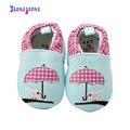 Meninas Bonitos do bebê Prewalkers Infantil Criança Deslizar Sobre Algodão Primeiros Caminhantes Suaves sapatos de Fundo Floral Rasa Calçado Sapatos Queda Primavera