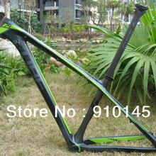 Лидер продаж!! Cube Reaction GTC 29er рама карбоновая для горного велосипеда зеленый/серый/черный