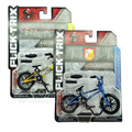 Flick Trix Intense BMX Finger Bicycle with Gadget Factory XL/Cam Wood Diecast Renn-Bike Nickel Alloy Stents Mini Bike Toys
