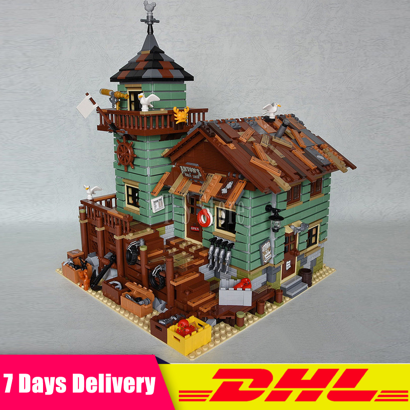 DHL IN Stock LEPIN 16050 2109Pcs MOC Series The Old Finishing Store Model Building Blocks Bricks Figures Modular Set Gift Toys the little old lady in saint tropez
