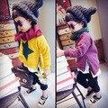 No outono de 2016 novas crianças do sexo masculino com Sweathershirt único cashmere hoodies Manga Comprida Jacket Frete Grátis