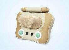Best Gift Electric Shiatsu Heat Neck and Back Massager Cushion Massage pillow