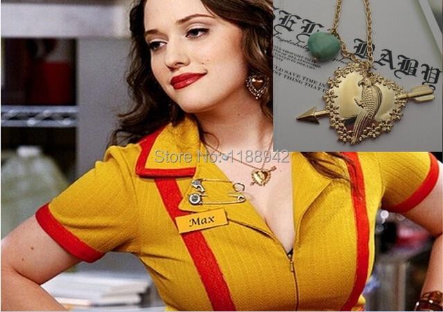 2 Broke Girls Max parrot Pendant Necklace-in Pendant