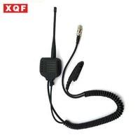 vhf uhf XQF רמקול מיקרופון עבור מוטורולה רדיו GP328 GP340 GP360 GP380 עם UHF / VHF אנטנה (1)