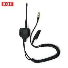 XQF Speaker Mic for Motorola radio GP328 GP340 GP360 GP380 with UHF/VHF Antenna цена