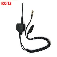 XQF Speaker Mic for Motorola radio GP328 GP340 GP360 GP380 with UHF/VHF Antenna(China)