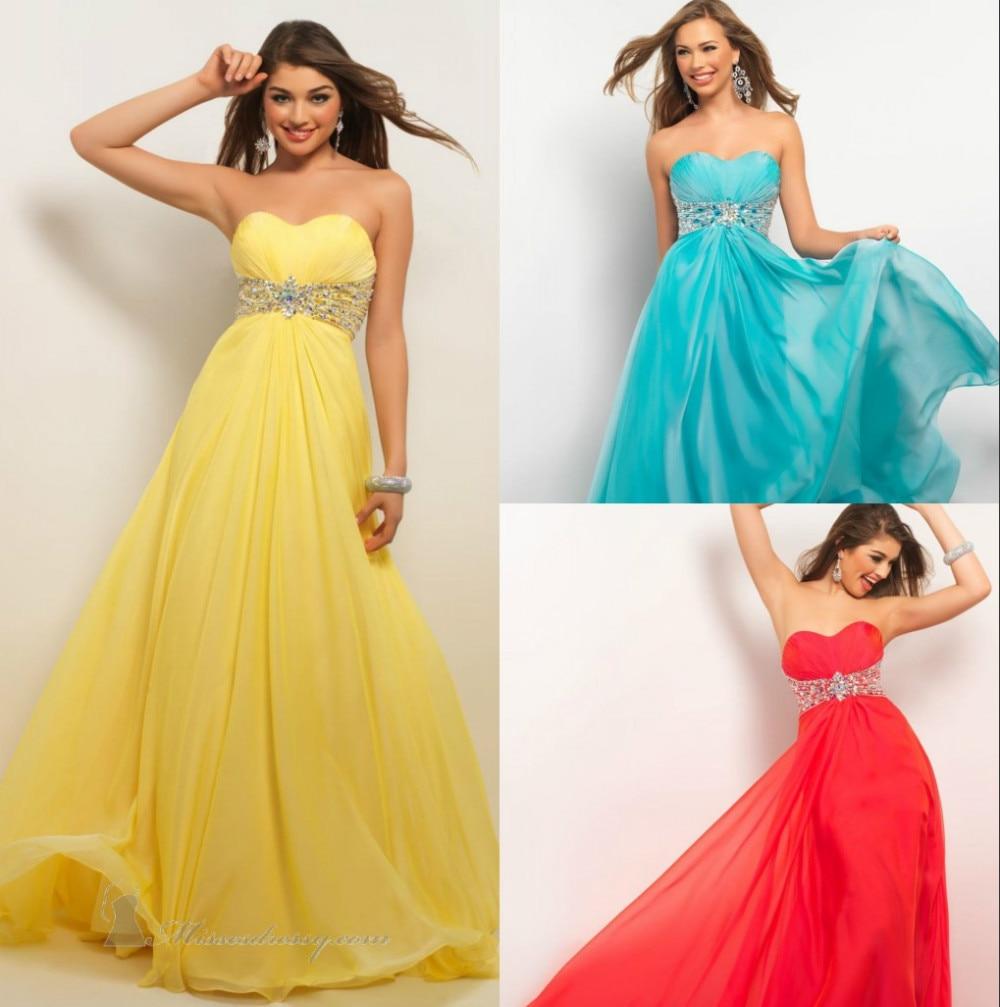 Designer Prom Dresses: Free Shipping 2015 New Est Chiffon High Quality Chic