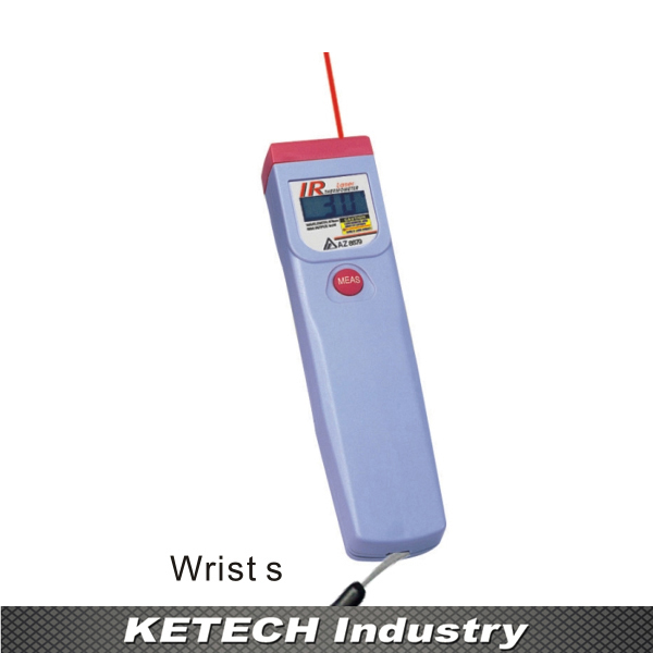 цена на AZ-8879 Infrared Industrial Thermometer Measuring range -20 ~ 320C