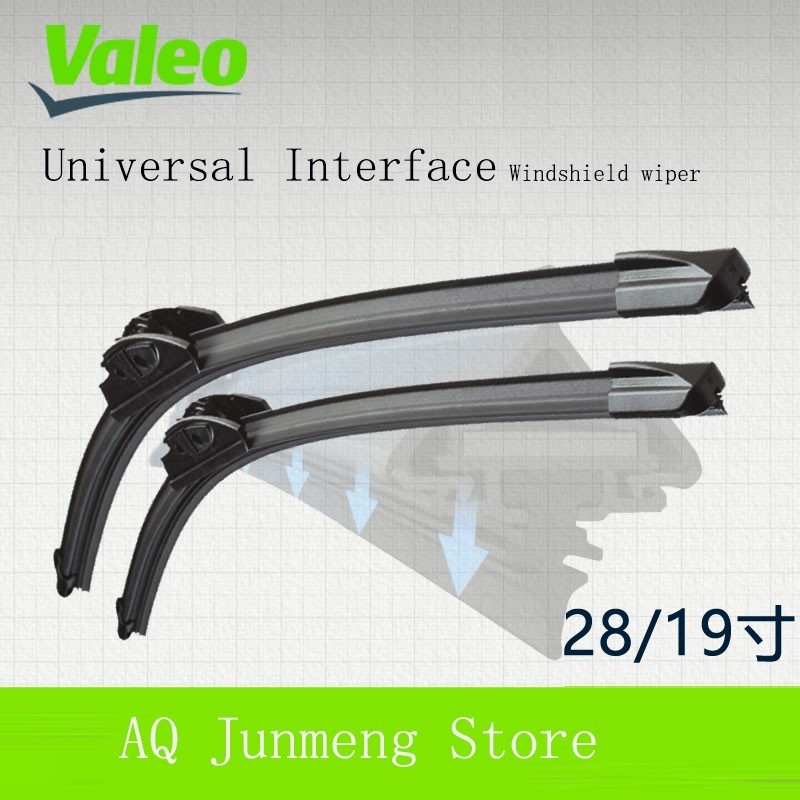 Valeo Preferred 28/19 Yes Wipers for Honda Eulogize Rl 05 12 Fund Boneless Wiper