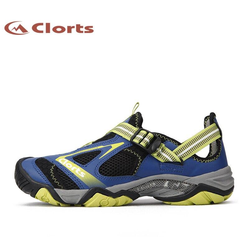 Clorts Men Waders Upstream Shoes Quick-drying Outdoor Water Shoes Mesh Aqua Shoes for Male 3H010A shanghai kuaiqin kq 5 multifunctional shoes dryer w deodorization sterilization drying warmth