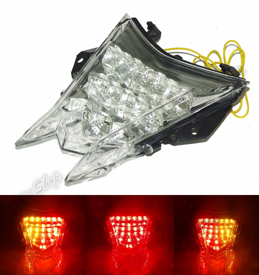 Motorcycle Parts Rear Tail Light Brake Turn Signals Integrated Led Light Clear For 2009-2016 BMW S1000RR S 1000 RR K46 aftermarket free shipping motorcycle parts led tail brake light turn signals for honda 2000 2001 2002 2006 rc51 rvt1000r smoke