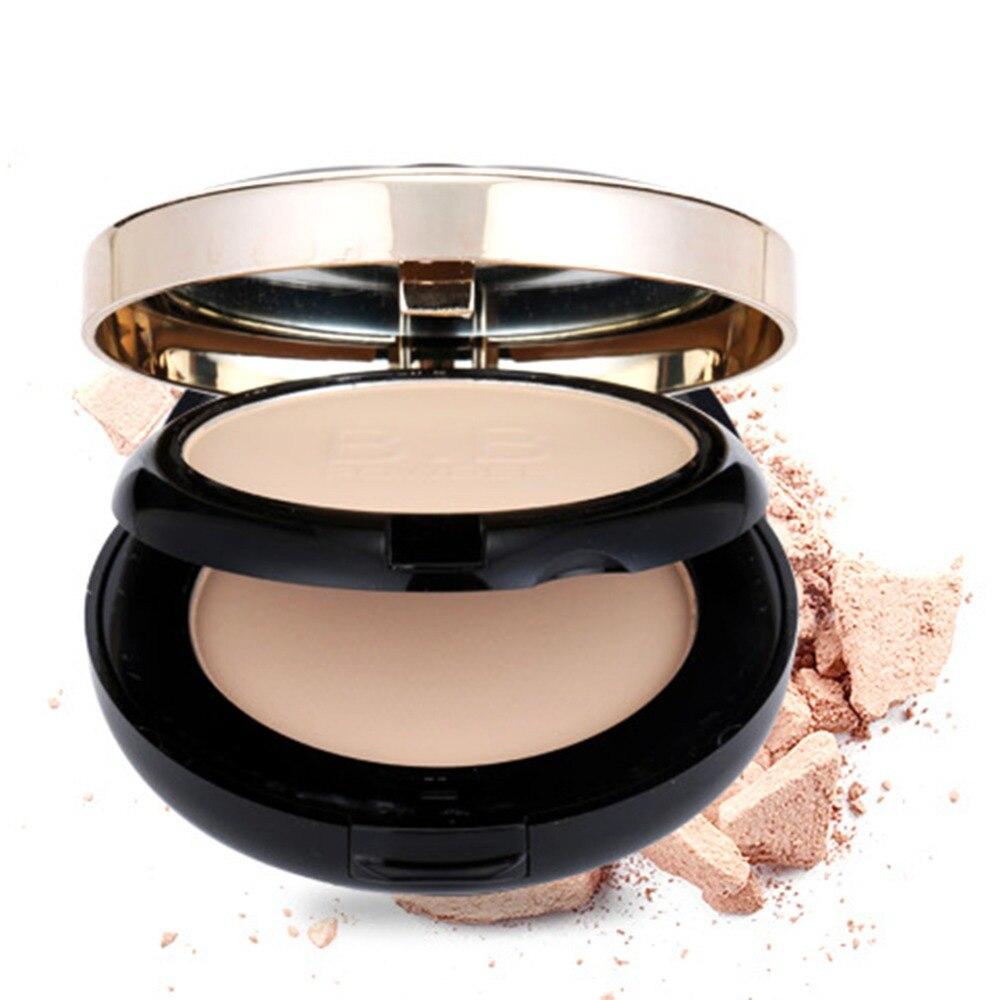 base mineral maquillaje de lujo de capas impermeable iluminar la cara mate contorno paleta