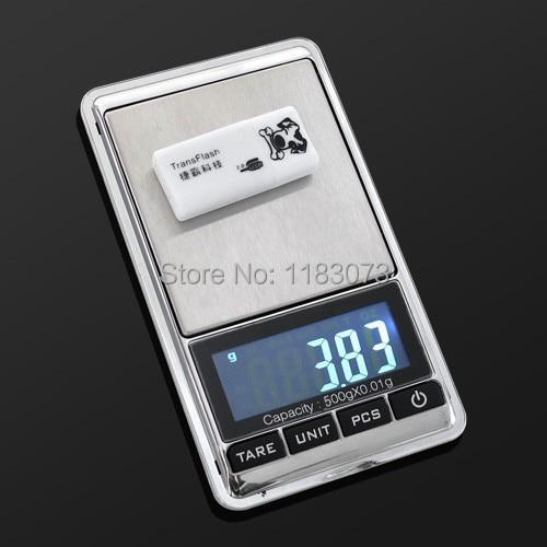 500g 0,01 Bilance digitali per gioielli 500g 0,01g Bilancia - Strumenti di misura - Fotografia 2