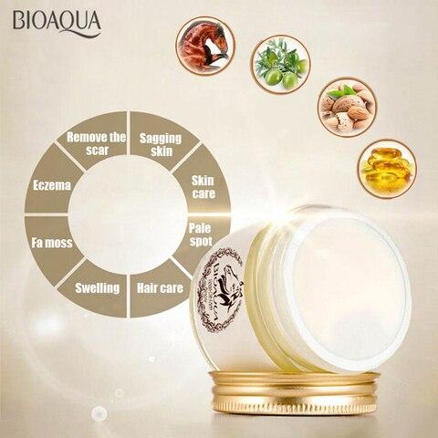BIOAQUA Anti-Aging Day Cream Horse Oil Ointment Whitening Moisturizing Anti Wrinkle Cream Skin Care Facial care Karachi