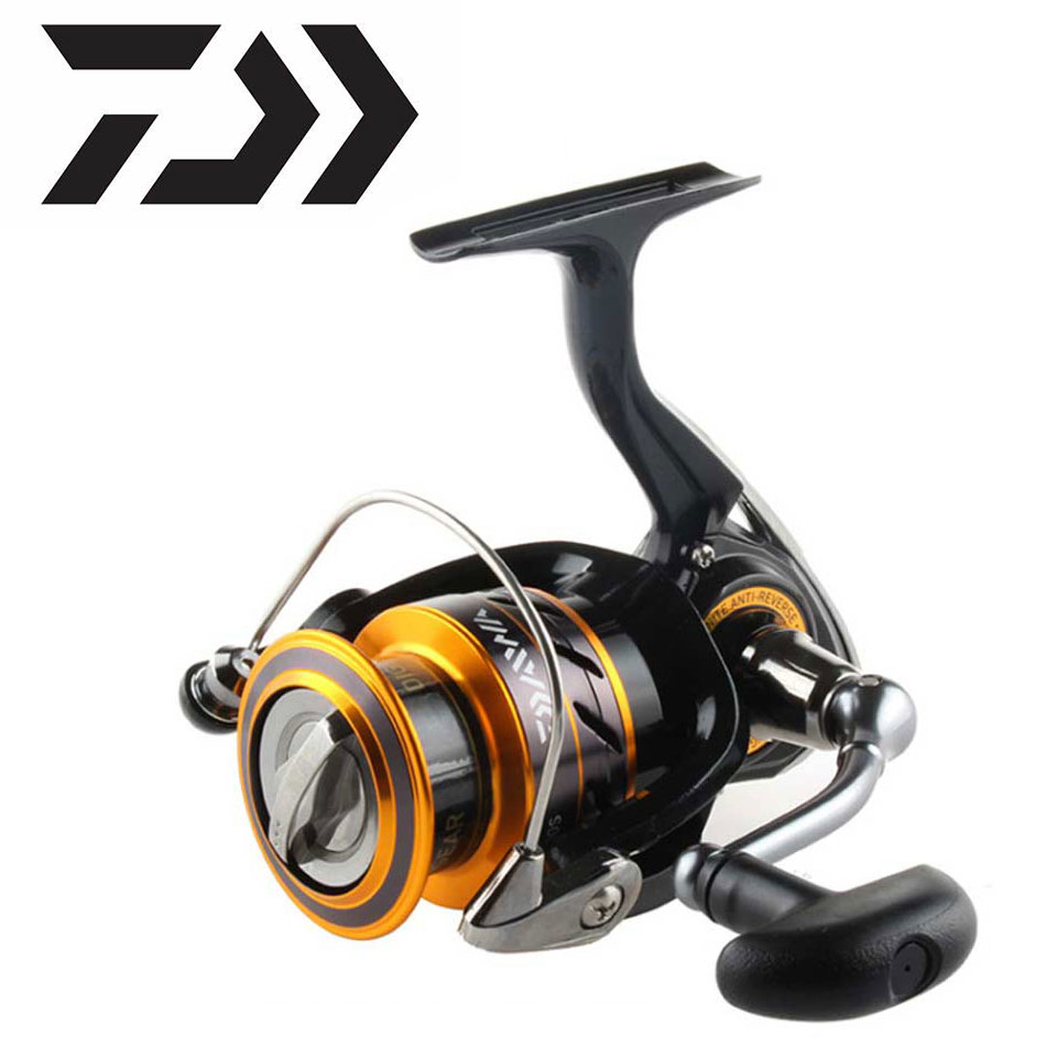 Fishing Daiwa fishing reel MISSION CS 2000-4000 New size with Metail line cup 2KG-6KG Power