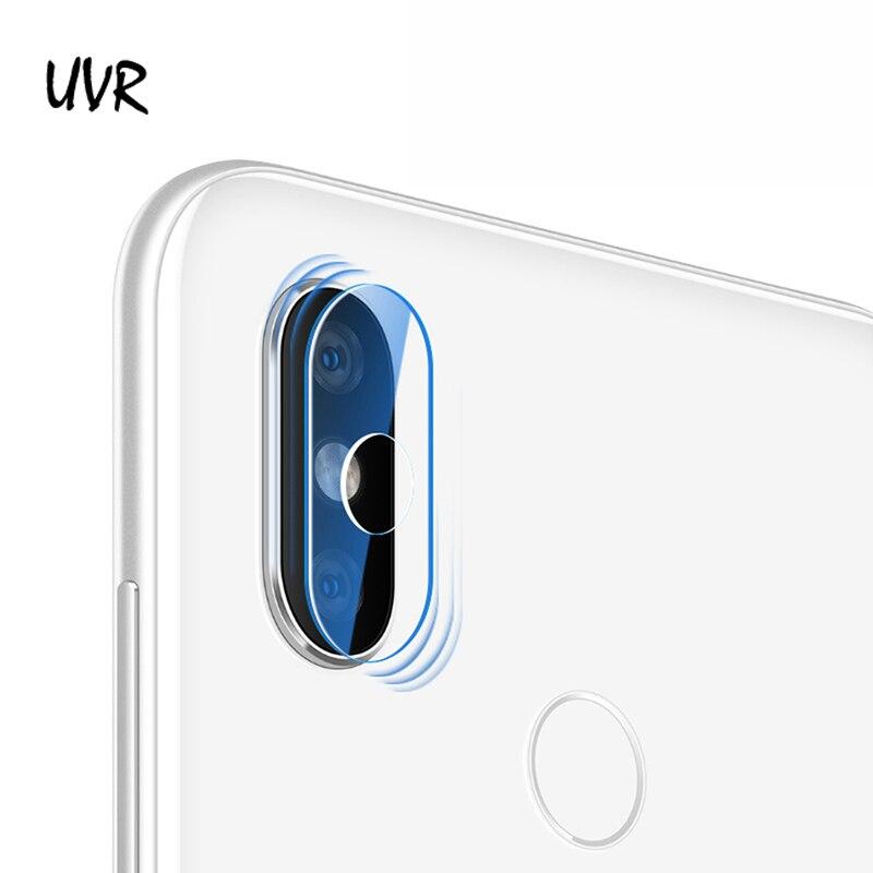 UVR 100 boîtes lentille de caméra en verre trempé pour Xiaomi Redmi 7 6A 6 Pro protecteur d'objectif de caméra Redmi 7 5 Plus 5A S2 Film d'objectif de caméra