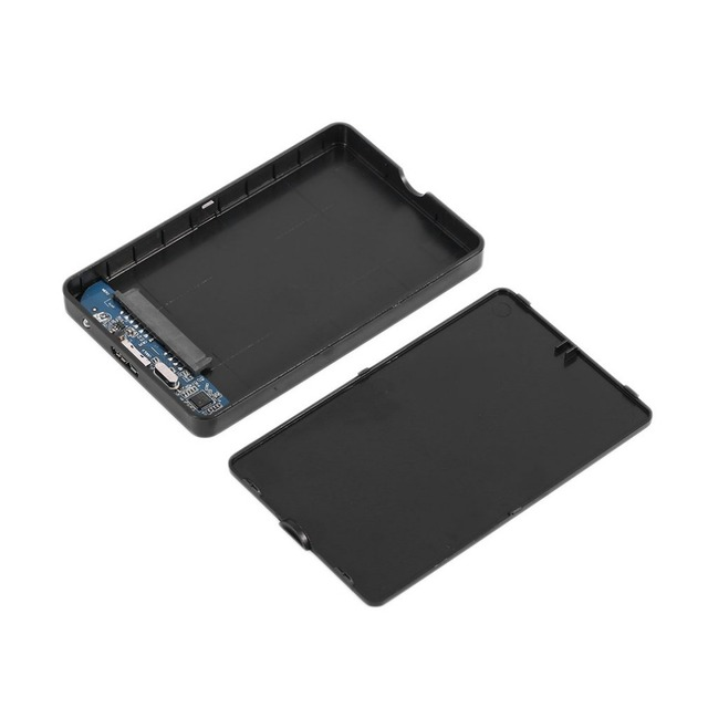 Practical 2.5 Inch SATA External Enclosure USB3.0 HDD Enclosure ABS Box For Hard Drive Disk Support 3TB Capacity Hot selling Office & School Supplies