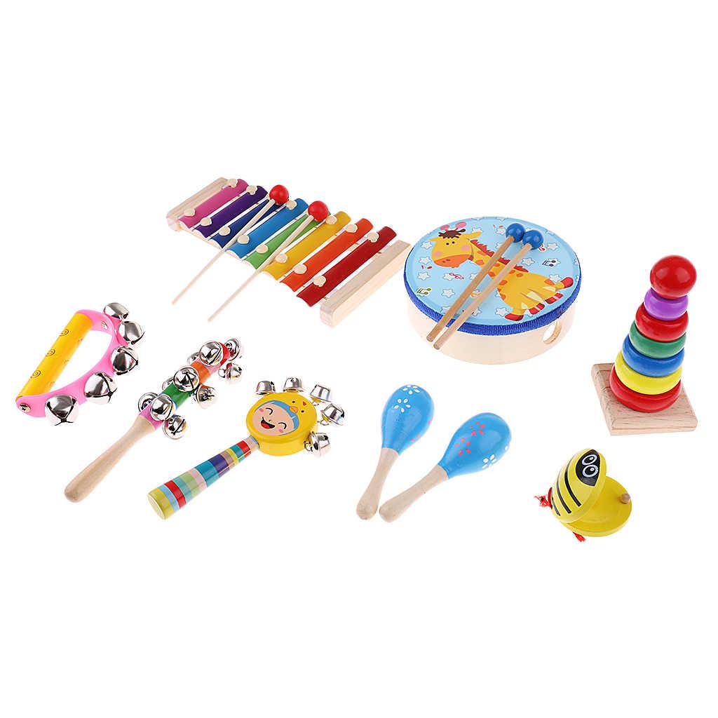 Wooden teach musical instrument children's toys for newborns babies developing develop your baby's sense of music