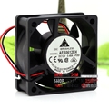 Original AFB0612EH 6 cm 12V 0.48A 6CM 6025 double ball cooling fan