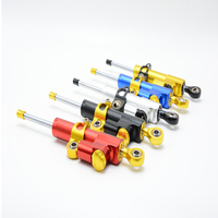 For CNC Damper Steering StabilizerLinear Reversed Safety Control Over For Kawasaki Zx6r 2008 Ninja250r Z800 Z