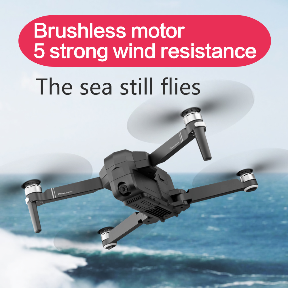 Professional PRO GPS Drone WiFi FPV With HD Camera F11 Brushless Quadcopter Foldable Helicopter Gesture Foldable Selfie RC Dron