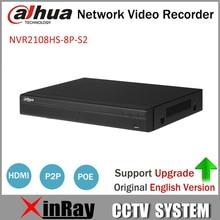 Dahua POE NVR 8-КАНАЛЬНЫЙ Сетевой Видеорегистратор Full HD 1080 P NVR2108HS-8P-S2 Рекордер С 1 SATA Интерфейс 2USB