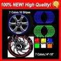 Wheel Rim Decals Stickers For KAWASAKI NINJA ZX250R EX250 08-12 ZX 250R EX 250 2008 2009 2010 2011 2012 5B2 Wheel Rim Sticker