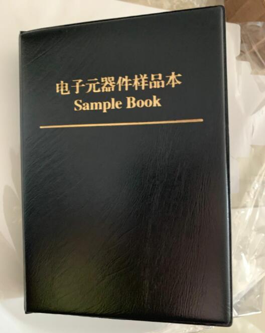 38Values x50Pcs 1900pcs Sample Book 1206 Capacitor 10PF 22UF SMD Capacitors Kit Assortment Kit free shipping