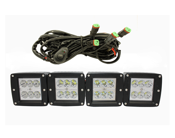 Wiring Diagram For Led Work Lights : Hid floodlight wiring diagram light headlights