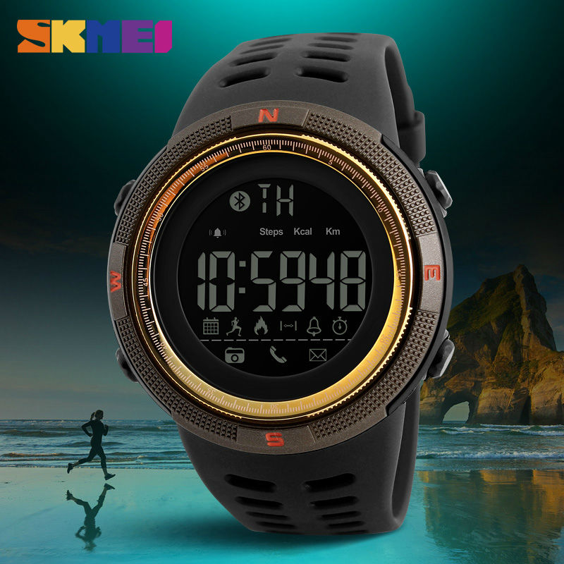 Sports Watches 1250 SKMEI Digital Smart Pedometer Reminder Multi-Functions Calories Men