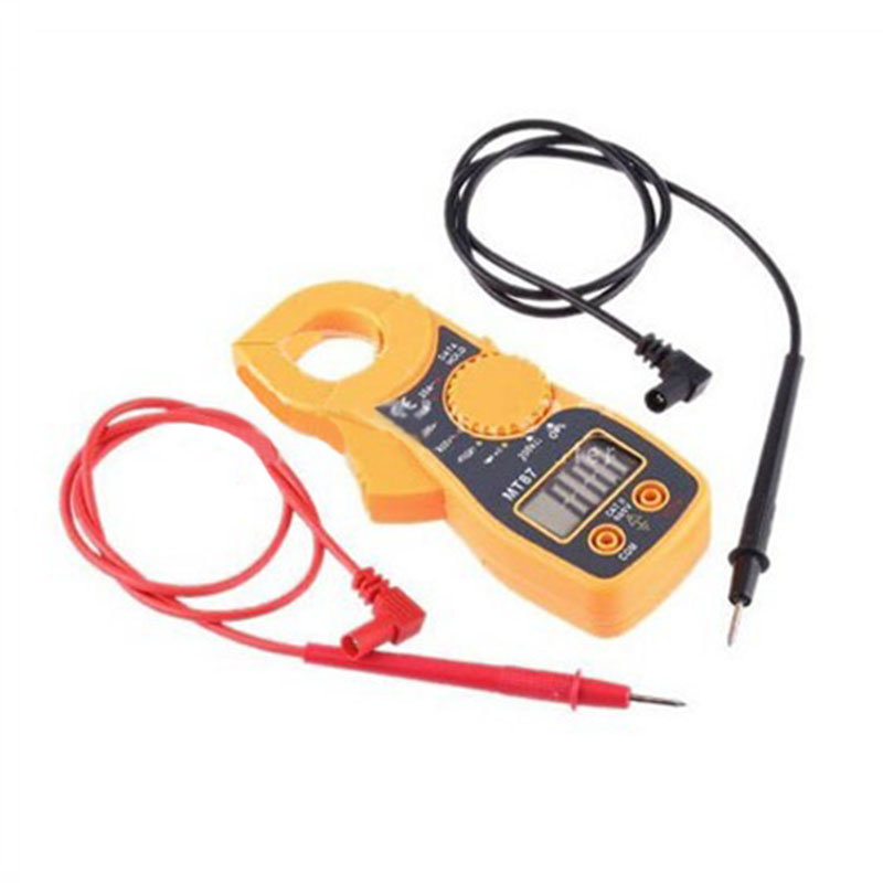 New High LCD Digital Multimeter Electronic Automatic Tester Accurate Durable Voltage Current Tester AC/DC CLAMP Meter --M25