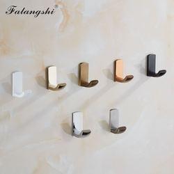 2 шт., настенные крючки для ванной комнаты, старинный, из медной латуни, крючки для подвески, Rustproof, резьбовые крючки с настенным креплением ...