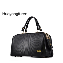 Neue 2015 Krokoprägung Marke Frauen Handtasche Mode Große Einkaufstasche Frauen Ledertaschen Handtaschen Umhängetasche Q4 F260
