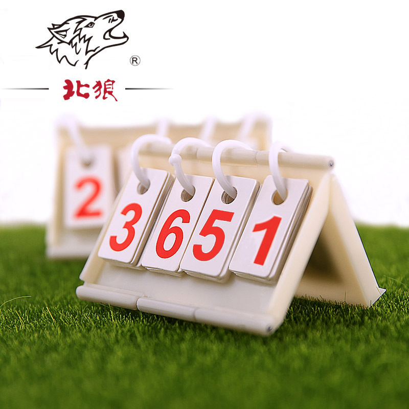 4 Chiffres Portable Basket-Ball Volley-Ball Tennis De Table Football Score De Soccer Bord Tableau de Bord Sport Notation Dispositif