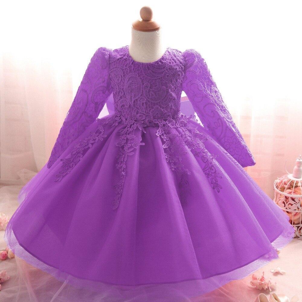 Wedding baby girl dress for girls clothes kids dresses Winter ...