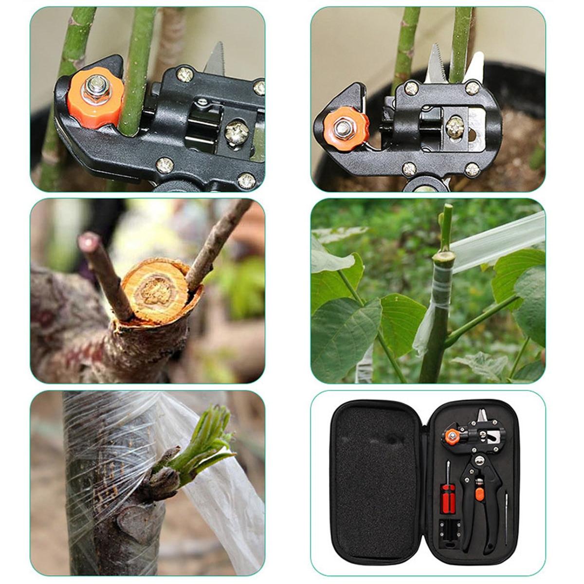 1 Set Professional Garden Fruit Tree Prune Shear Snip Grafting Cutting Tool Kit -- JDH99