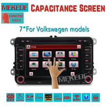 Two Din 7 Inch car DVD player for VW/Volkswagen/SAGITAR/JATTA /POLO/BORA/GOLF V host with 3G GPS BT IPOD RDS Radio TV Free cards