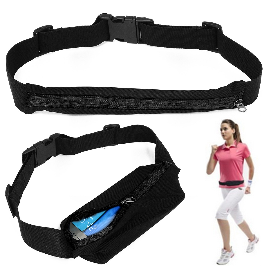New Outdoor Running Waist Bag Waterproof Mobile Phone Holder Jogging Belt Belly Bag Women Gym Fitness Bag Lady Sport Accessories 15