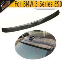 Carbon Fiber car roof lip spoiler for BMW 3 Series E90 2005 2006 2007 2008 AC style